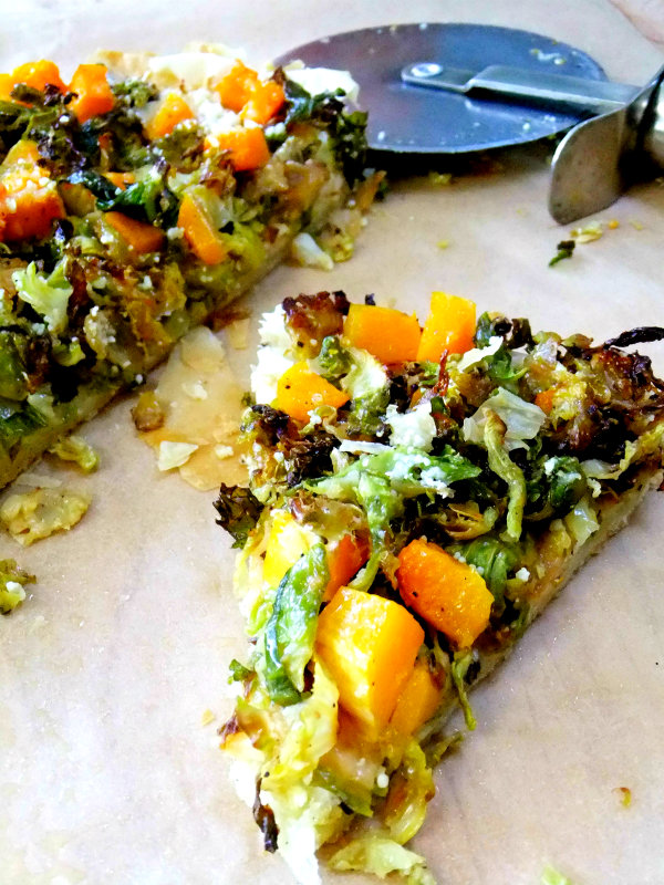 Shaved Brussels Sprouts Tart - Proud Italian Cook