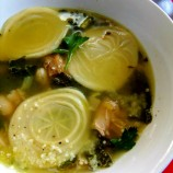 Next Day Turkey Soup with Corzetti Pasta