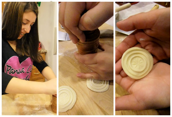 making corzetti