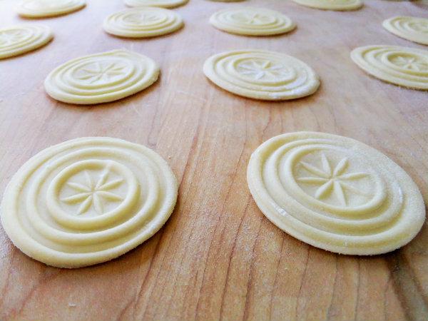 corzetti pasta
