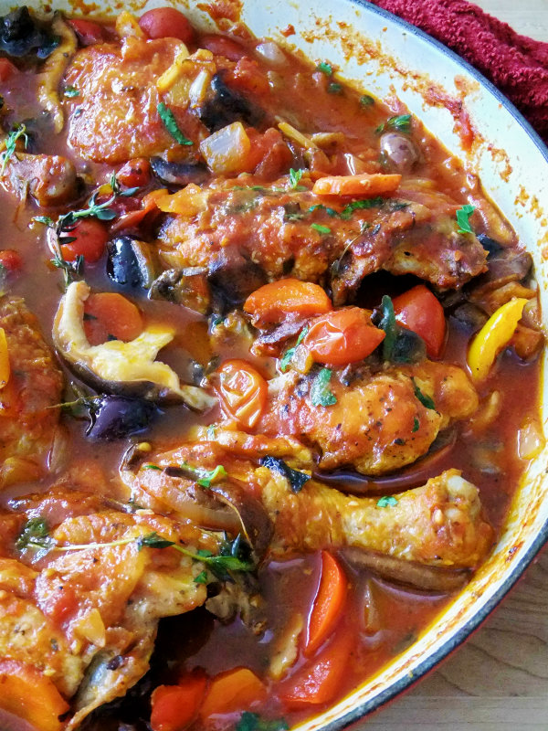 Its a chicken cacciatore kind of day proud italian cook chicken cacciatore forumfinder
