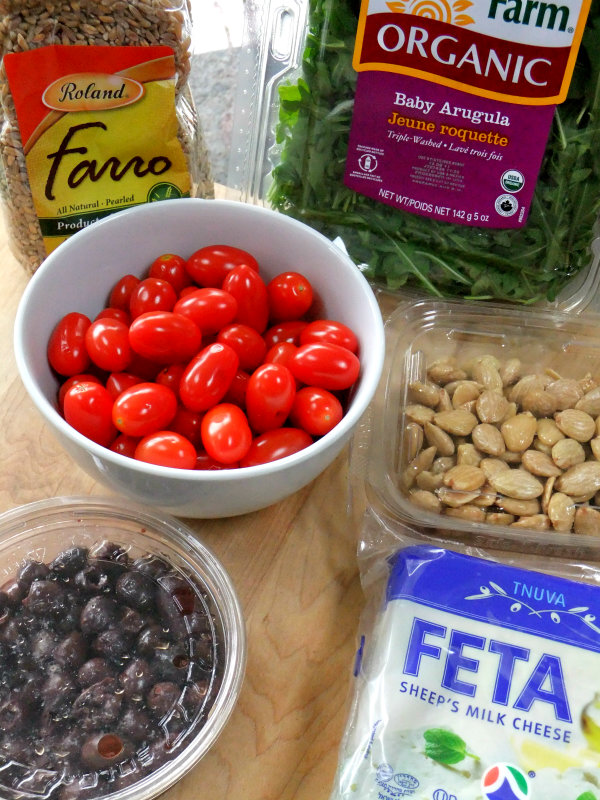 farro salad ingredients