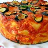 Round Veggie Lasagna