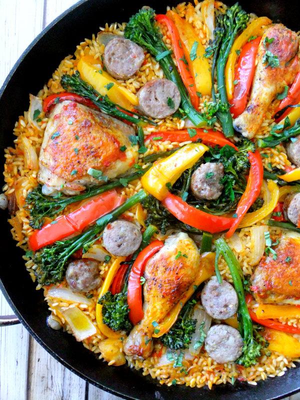 Italian style paella