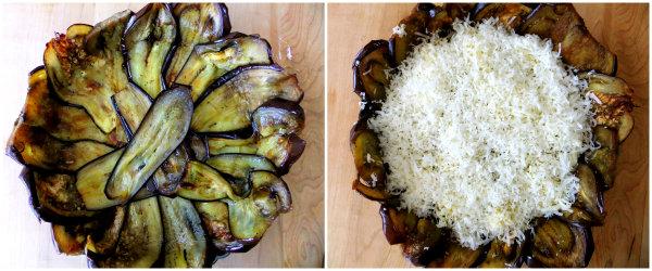 eggplant crusted tart