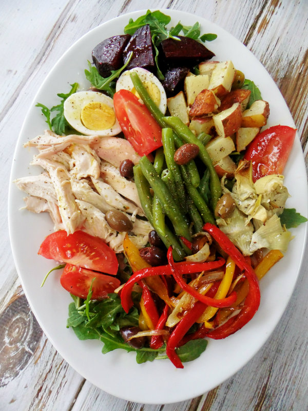 Chicken Nicoise Salad - Proud Italian Cook