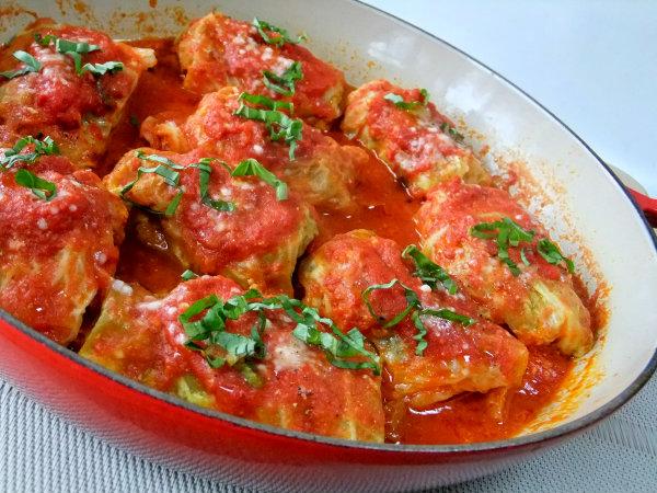 pork and cabbage involtini