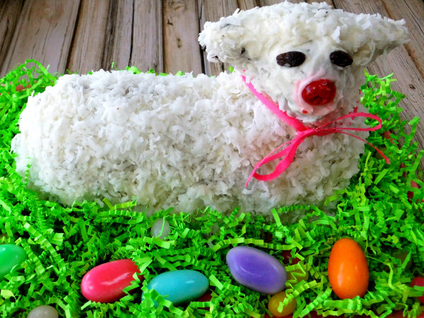 Easter Lamb Cake II Recipes — Dishmaps