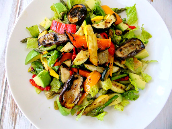 Grilled Vegetable Salad - Proud Italian Cook