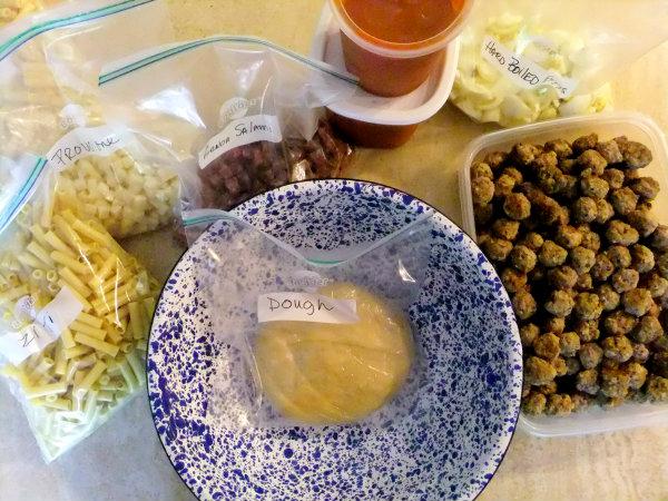 ingredients for making timpano