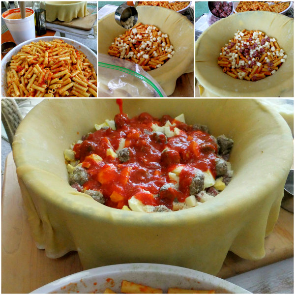 steps in making timpano