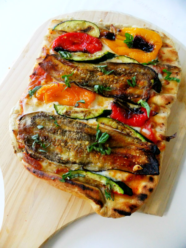 Grilled Veggie Pizza Recipe — Dishmaps