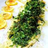 Herb and Citrus Crusted Fish