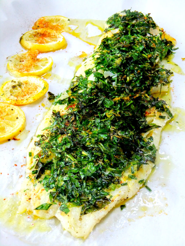 herb and citrus crusted fish proud italian cook