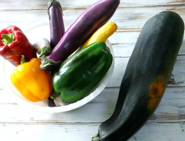 end of summer veggies