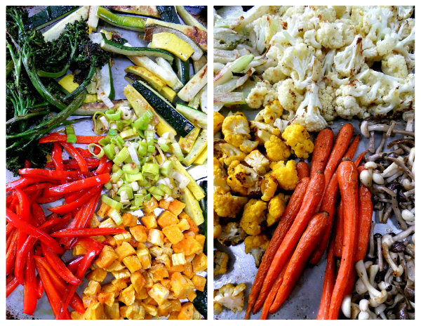 vegetable paella ingredients