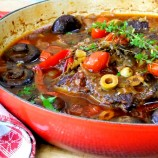 Slow Braised Beef Pot Roast, Italian Style