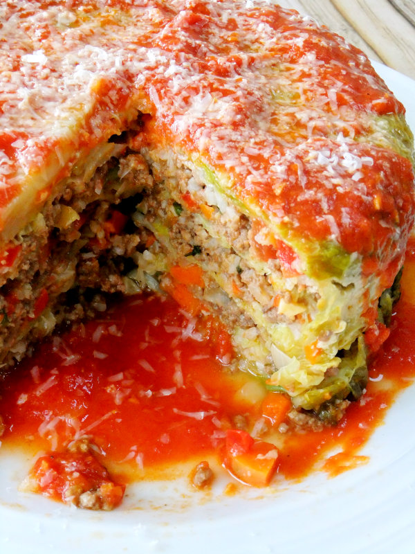 stuffed cabbage cake