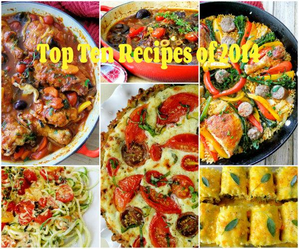 top ten recipes of 2014 on Proud Italian Cook