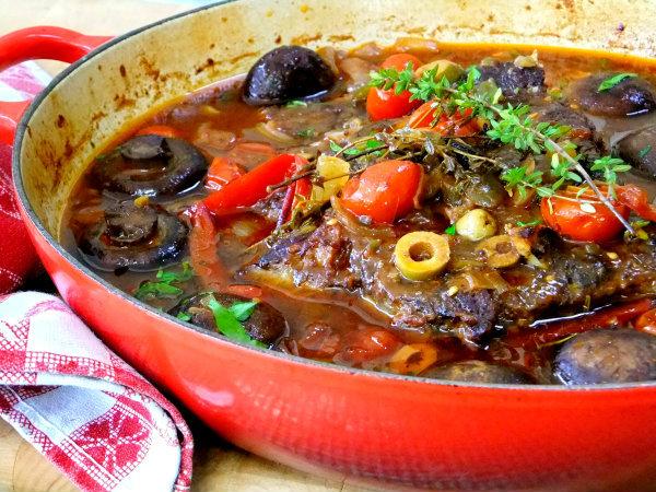 pot roast, Italian style