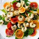 Roasted Winter Citrus with Shrimp