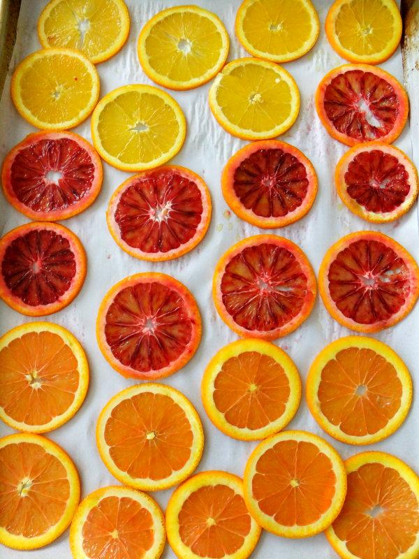 roasting citrus