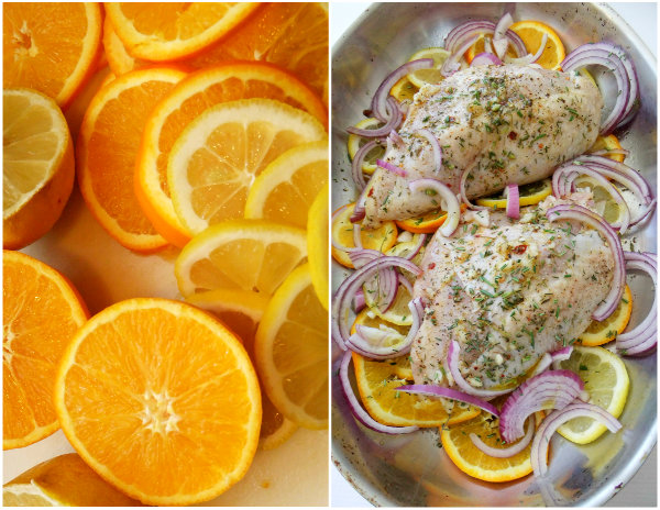 herb and citrus chicken