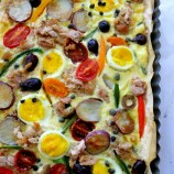 Tuna Nicoise Tart with Phyllo and a Giveaway
