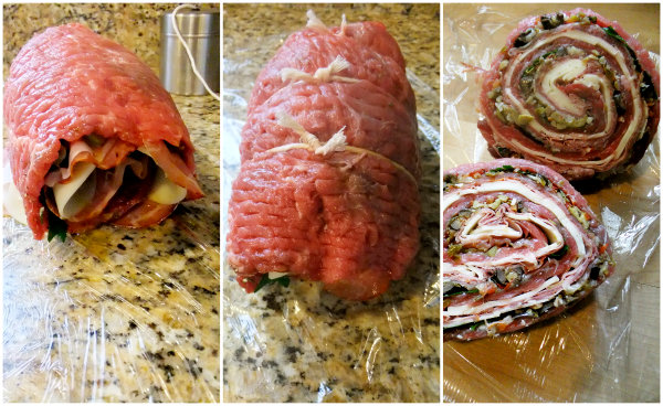 how to cook pinwheel flank steak in oven