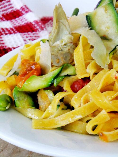 springtime pasta