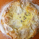 Easter Italian Rice Pie with Rum Soaked Raisins