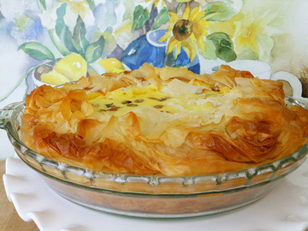 Easter Italian rice pie