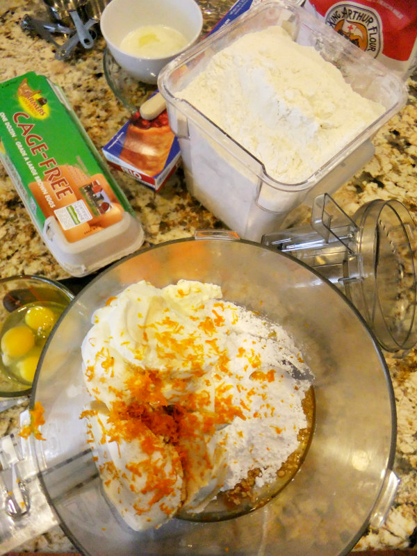 Easter italian rice pie ingredients