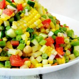 Summer Chopped Veggie Salad