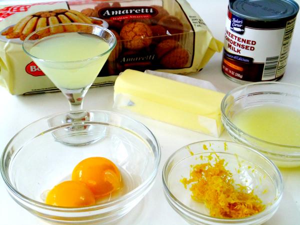 limoncello tart ingredients