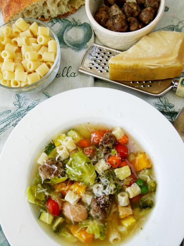 chunky minestrone