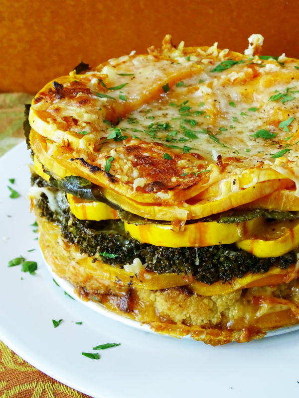Layered Roasted Vegetable Torte Proud Italian Cook