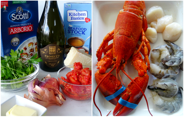 seafood risotto ingredients