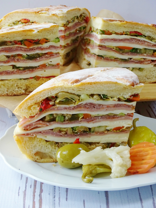 How To Make A Muffuletta Sandwich - Proud Italian Cook