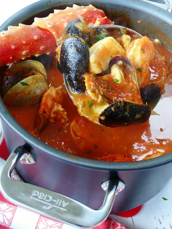 Making Cioppino Proud Italian Cook