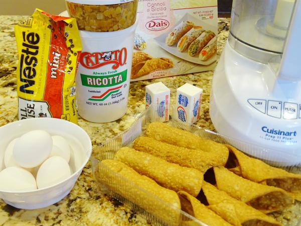 cannoli pie ingredients