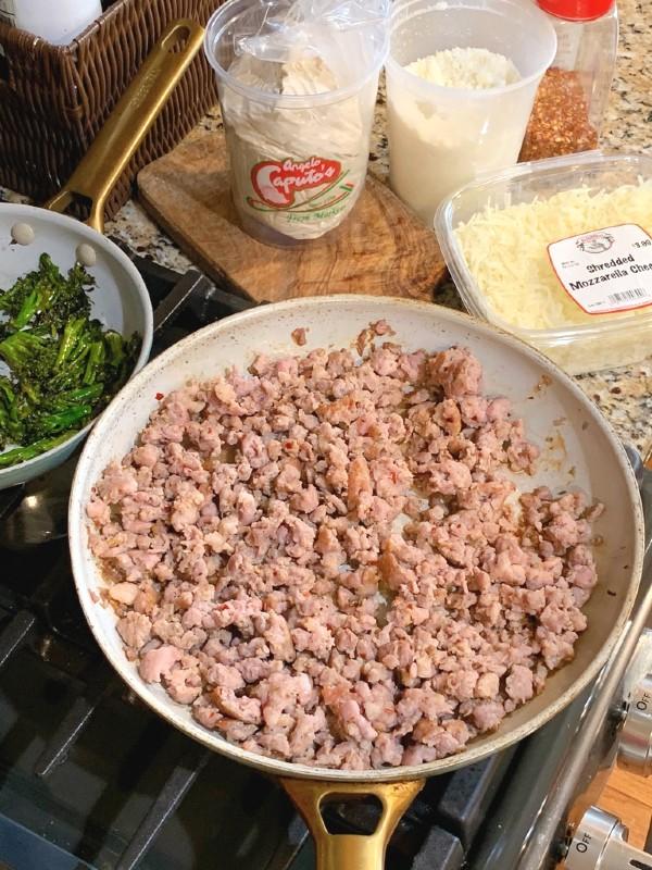 sausage bread ingredients