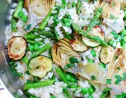 spring time risotto