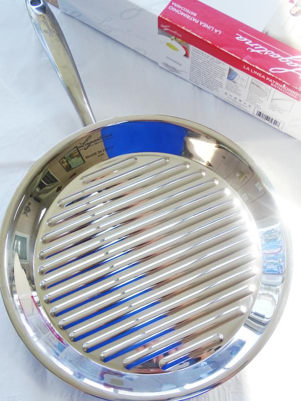 Lagostina round grill pan