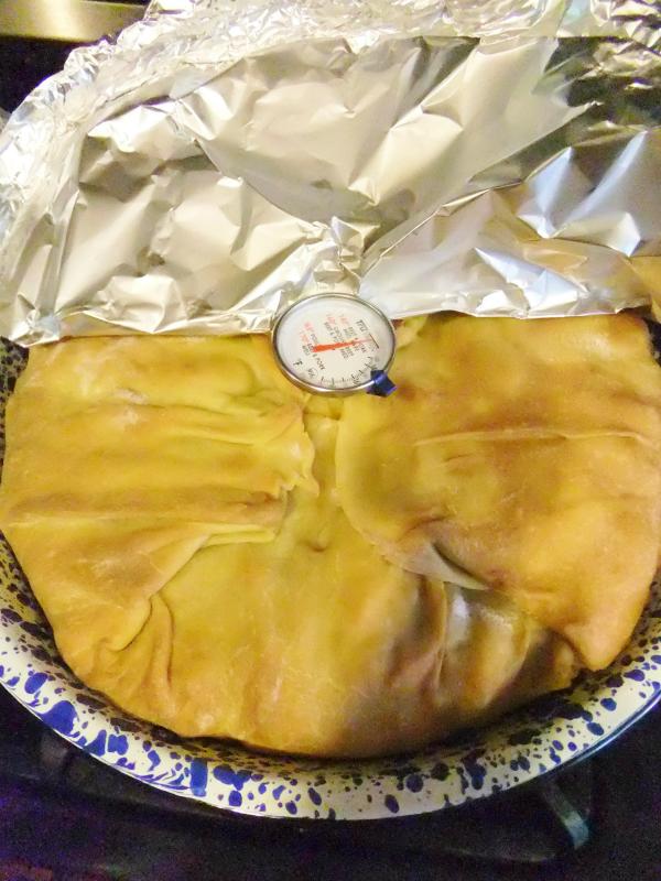 baked timpano