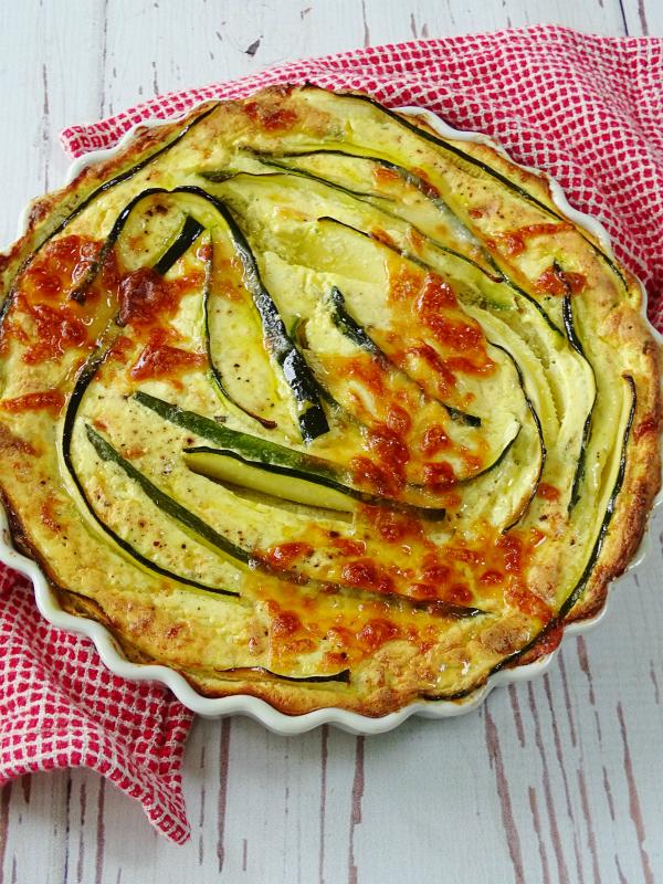 Savory Zucchini Ricotta Cheesecake - Proud Italian Cook