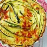Savory Zucchini Ricotta Cheesecake