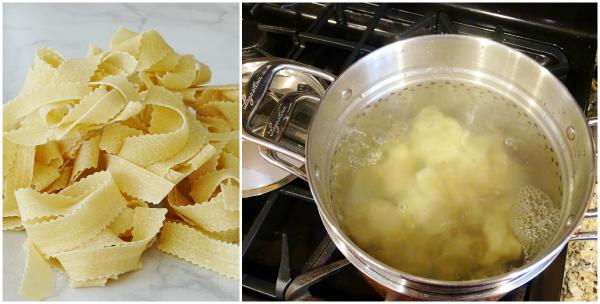 boiling pasta