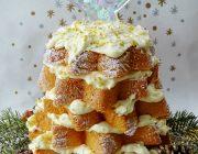 Italian Christmas tree cake