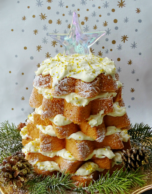Italian Christmas Tree Cake With Lemon Curd And Limoncello Proud Italian Cook